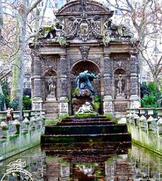 Livros e Viagens: Ramon passeia no Jardim de Luxemburgo