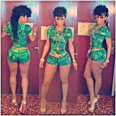 KEYSHIA KA'OIR Outfit at DAY PARTY in OHIO