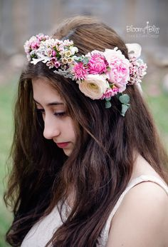 Floral jewelry, accessories and crowns – Blooms & Bliss Floral and Event Design