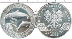 Польша, 2004 год, 20 злотых. Серебро.