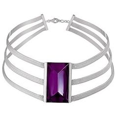 Baccarat So Insomnight Purple Crystal Collarette 2610652 - Necklaces - Product Type - Ladies | The Jewel Hut