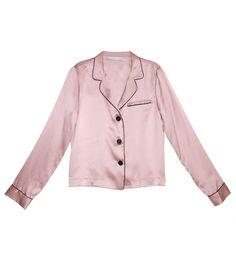 5d72af19ec Fleur Du Mal Rose Pink Pajama Top Pajama Top