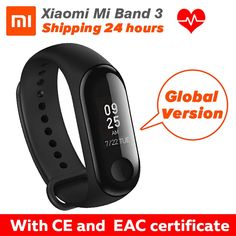 [Global Version] In Stock Xiaomi miband 3 mi band 3 Fitness Tracker Heart Rate Monitor 0.78'' OLED Display For Android IOS  Price: 55.99 & FREE Shipping #computers #shopping #electronics #home #garden #LED #mobiles #rc #security #toys #bargain #coolstuff |#headphones #bluetooth #gifts #xmas #happybirthday #fun