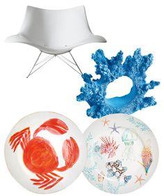 Svijet morskih dubina u interijerima - www.gloria.hr #gloriain