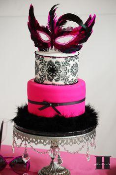 masquerade cake.