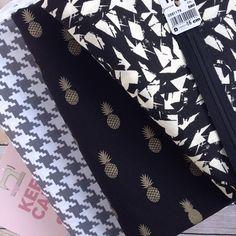 Bonjour! Une jolie commande est partie ce matin! /// a very chic order left this morning! #ananasfabric #michaelmillerfabrics #atelierbrunette #tissuandco #commandestissuandco #swisssewingsupplies