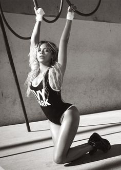 Calling all Beyonce fans: She co-created a new activewear line called IVY PARK and it. is. everything. Need all the jumpsuits, leggings, sportsbras and workout tops.