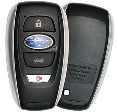 Subaru Smart Key Outback WRX Crosstrek with Key Plate Emergency Subaru Forester, Subaru Wrx, Glass Cockpit, Car Starter, Legacy Outback, Bmw 7 Series, Engine Start, Smart Key, Grand Caravan