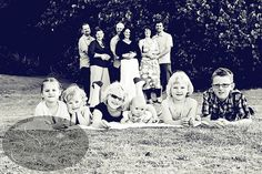 we should ask the photographer to do this next time with our big clan