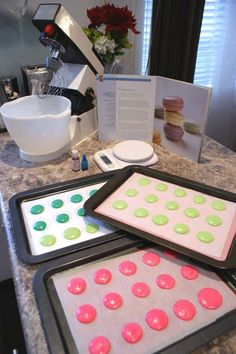 Macarons step by step