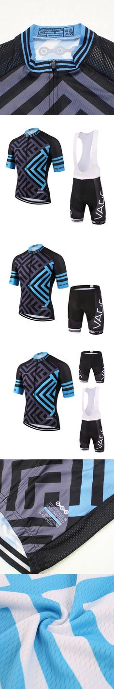2017 blue outdoor professional cycling wear jersey/men breathable cycle bike clothes/short sleeve polyester unisex bicycle wear