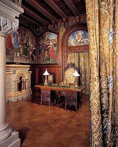 Neuschwanstein Castle Interior | ... Schlösserverwaltung | Neuschwanstein | Tour of the castle | Study