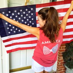 America tank / perfect for the 4th!