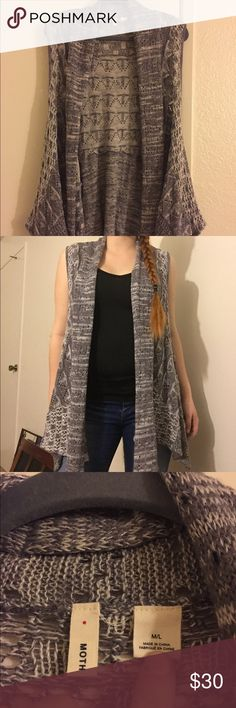 Women's Anthropologie Grey Knitted Shrug Size M Women's Grey Knitted Anthropologie Shrug Women's Size M Anthropologie Sweaters Shrugs & Ponchos