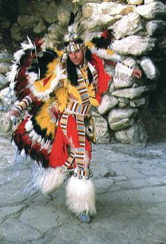 Cherokee... my sister used to dance like this and dress up like this when she was in elementary school