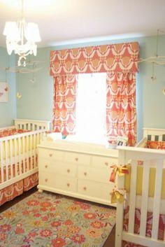 İkiz bebek odası