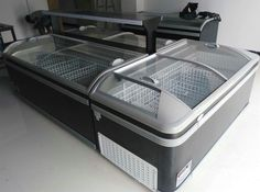 combined island freezer