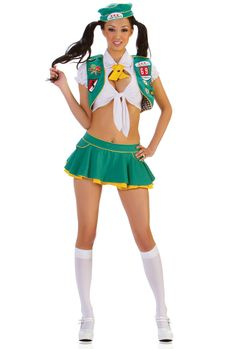 Girl Scout Costume  sc 1 st  Pinterest & Sexy Girl Scout Costume | Pinterest | Girl scout costume Girl scout ...