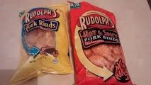 Amy and Aron's Real Life Reviews: Rudolph's Pork Rinds Review