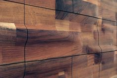 Makemei Furniture - Turn your home into an art gallery instantly with the help of Makemei Furniture. This furniture design company creates gorgeous, sculptural pieces . Timber Feature Wall, Timber Wall Panels, Timber Walls, Curved Walls, Wood Panel Walls, Custom Made Furniture, Furniture Design, Wood Furniture, Chest Of Drawers Design