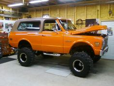 would love to paint big bertha that orange