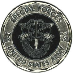 Crest Special Forces US Army Coin