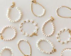 Cute Jewelry, Diy Jewelry, Jewelry Accessories, Handmade Jewelry, Jewelry Design, Jewelry Making, Bead Jewellery, Pearl Jewelry, Beaded Jewelry