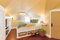 Photo: Susan Seubert | thisoldhouse.com | from Tapping Existing Potential to Create an Attic Master Suite