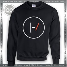 Buy Sweatshirt Twenty One Pilots Black Logo Sweater Womens and Sweater Mens