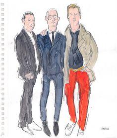 Richard Haines' drawings