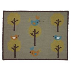Living Textiles Baby Tre Rug