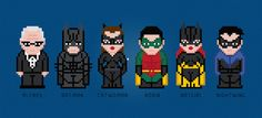 Batman And Friends Movie Characters  Digital by AmazingCrossStitch, $5.00