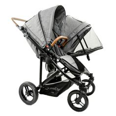 Your search for perfect twin stroller just ended! TWIN WAY is the best side-by-side twin stroller with independently reversible seats. It's lightweight and takes one or two infant car seat adapters or one or two bassinettes.