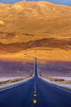 Death Valley National Park, California: The Open Road....