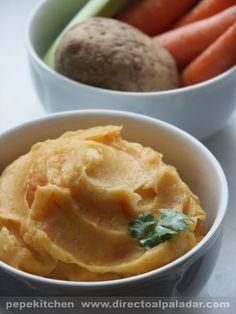 stoemp de patatas y verduras