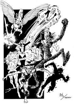 The New Mutants By Alan Davis