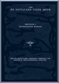 De Havilland Tiger Moth   Aircraft Maintenance Manual