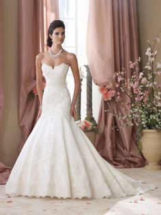 David Tutera for Mon Cheri – Wedding Dresses 2014 | World inside pictures