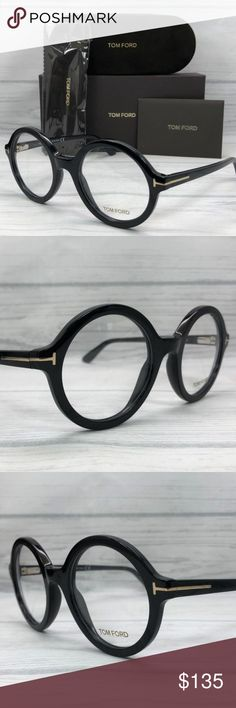 abf26b0f7ca5 Tom Ford 001 Shiny Black   Demo Lens Model Name   Frame Color  Shiny Black  Frame Material  Plastic Country of manufacture  Italy Item includes  Tom  Ford Box ...