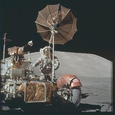 Project Apollo Archive  https://flic.kr/p/z1MaUh | AS17-134-20475 | Apollo 17 Hasselblad image from film  magazine 134/B - EVA-1 & 3