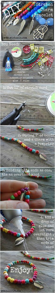 DIY Braided Wrap Bracelet