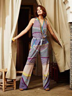 Burdastyle pattern - Sleeveless Jumpsuit 02/2013 #124