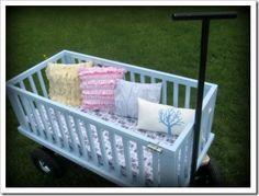 Idea #2 for an old crib!