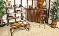 Création  uniques à découvrir!! Shelving, Creations, The Unit, Furniture, Home Decor, Contemporary Bookcase, Recycled Wood, Home Decoration, Shelves