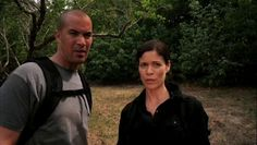 """Burn Notice 5x08 """"Hard Out"""" - Jesse Porter (Coby Bell) & Agent Pearce (Lauren Stamile)"""