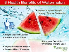 Do You Know About The Benefits Of Watermelon ... Share it with your Friends
