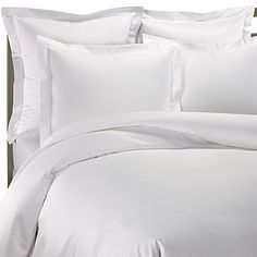 1000 Thread Count Duvet Cover - White, Cotton - Bed Bath & Beyond Neutral Bedding, White Bedding, White Duvet Covers, Down Comforter, Bedding Shop, Cotton Bedding, Bed & Bath, Master Bedroom, Bed Pillows