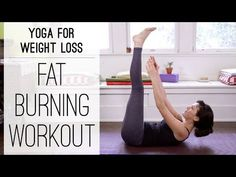 Yoga For Weight Loss - 40 Minute Fat Burning Yoga Workout! For weight loss, having some yoga routine is the best option one can thi. Fat Burning Yoga, Fat Burning Workout, Yoga For Weight Loss, Weight Loss Plans, Non Weight Bearing Exercises, Best Yoga Videos, Fat Yoga, Yoga With Adriene, Yoga Exercises
