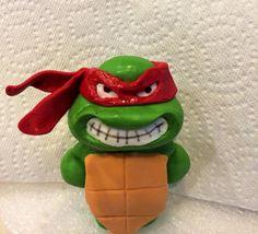 Fondant Teenage Ninja turtle Raphael