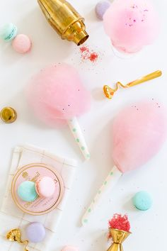 How To Make Spiked Cotton Candy!
